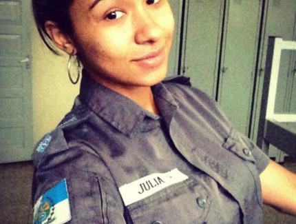 Hot Brazilian Military Officer Leaked Nude Photos